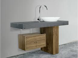 waschtisch design badezimmer waschtisch in schieferoptik mit einem eleganten keramik
