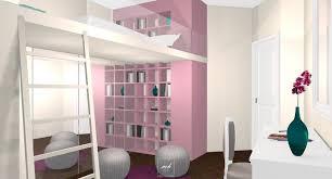 chambre mezzanine fille aménagement chambre de fille mh deco