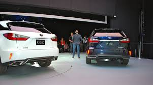 lexus nx new york auto show the 2016 lexus rx tries to have fun by copying its little brother