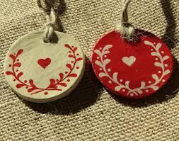 swedish christmas decorations ornament scandinavian christmas decorations set clay