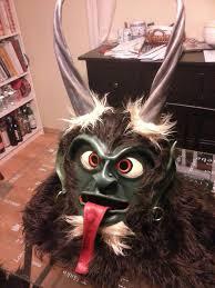 Krampus Halloween Costume Krampus Perchten Kukeri Wilder Man Baphomet Mask Suit