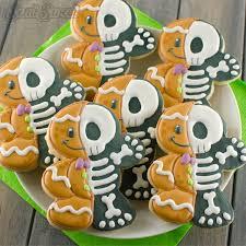 how to make gingerbread man skeleton cookies semi sweet designs
