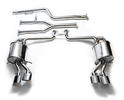 mb042 qs20m armytrix stainless steel valvetronic catback exhaust