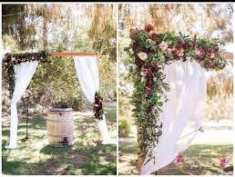 japanese wedding arches wedding arch faux arch flowers archway flowers silk arch