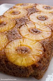 carrot pineapple upside down cake recipe