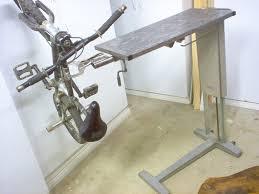 adjustable welding bike worktable 9 steps with pictures