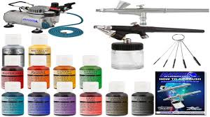americolor amerimist airbrush color 9 ounce no color pearl sheen