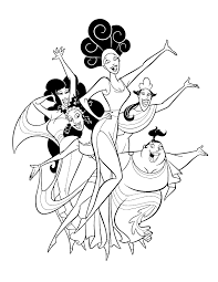 hercules coloring page hercules the muses coloring page disney lol