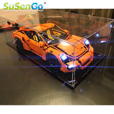 lego porsche 911 gt3 rs susengo led light kit for porsche 911 gt3 rs compatible with