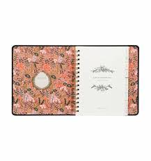floral foil 2018 floral foil 17 month planner by rifle paper co imported