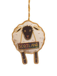 black sheep ornament