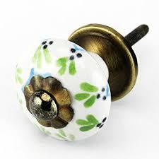 painted ceramic cabinet knobs painted ceramic cabinet knob drawer pulls handles set 4pc