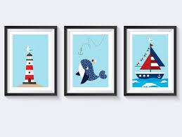 kinderzimmer maritim bilder a4 bilderset kinderzimmer poster maritim posterset ein