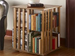 Bookshelf End Table Revolving Bookcase End Table Home Design Furniture Decorating