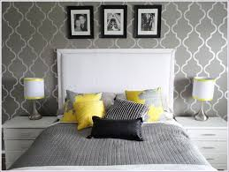 Yellow Bedroom Walls Magnificent 30 Bedroom Decorating Ideas Yellow And Gray Design