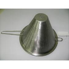 tami cuisine passoire chinois conique 19 5cm métal cuisine tamiser égoutter