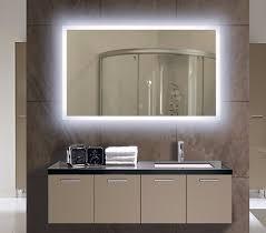 bathroom mirror design ideas mirror design ideas rectangle white backlit bathroom mirrors
