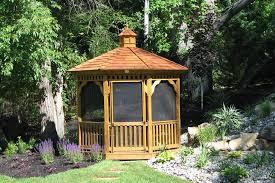 Backyard Gazebos Pictures - backyard gazebo ideas from lancaster county backyard in kinzers pa