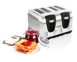 4 Slice Toaster White Sigma 4 Slice Stainless Steel Toaster Mellerware Creative