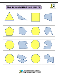 printable shapes 2d 3d