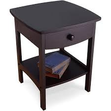 walmart end tables and coffee tables curved nightstand end table walmart com perfect for the bedroom
