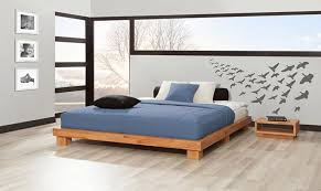 Bed Headboard Design Platform Bed Without Headboard With Shelves Bedroom Ideas And
