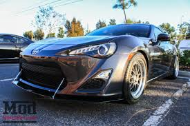 frs with lexus front end carbon fiber front splitter for 2012 14 scion fr s subaru brz