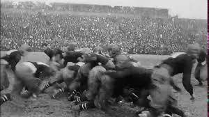 game thanksgiving upenn vs cornell football game thanksgiving day 1915 no sound
