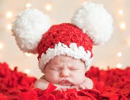 baby boy christmas christmas baby santa hat baby hat 0 to 3 month baby girl hat