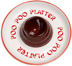 poo poo platters poo poo platter chip and dip plate your friends will be amused