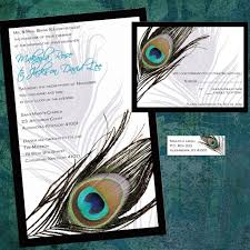 peacock wedding invitations wedding invitation ideas indian peacock wedding invitations