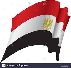 Color Of Egypt Flag Egypt Stock Vector Images Alamy