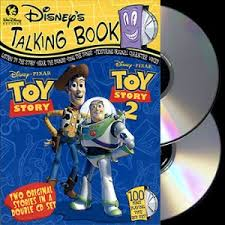 limited edition disney talking book toy story u0026 toy story 2 2cd