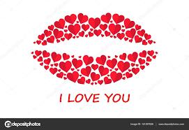 imagenes feliz dia del beso feliz día de san valentín tarjeta de felicitación beso de corazón