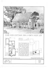 filestandard floor plans for a cape cod cottage ca 1940 jpg loversiq