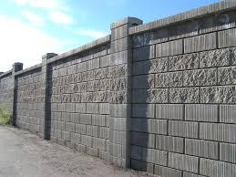 decorations cinder block wall ideas cinder block retaining wall