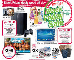 ps3 black friday target bundle meijer black friday 2013 ad find the best meijer black friday