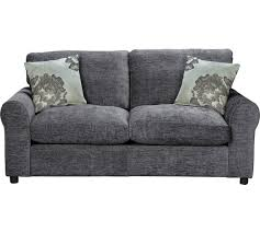 Folding Bed Argos Buy Home Tessa 2 Seater Fabric Sofa Bed Charcoal At Argos Co Uk