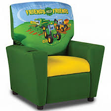 John Deere Johnny Tractor Kids Recliner RunGreencom - John deere kids room