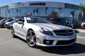 mercedes of irvine used mercedes sl class for sale in irvine ca edmunds