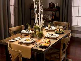 a rustic thanksgiving table above beyondabove beyond above