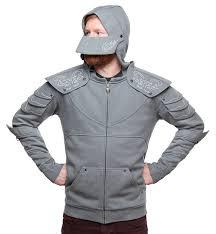 medieval knight hoodie thinkgeek