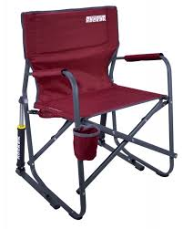 Fold Up Rocking Lawn Chair The Freestyle Rocker Camping Rocking Chair Gci Outdoor