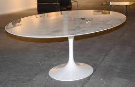 Large Oval Boardroom Table Saarinen Tulip Oval Dining Or Conference Table With Marble Top At