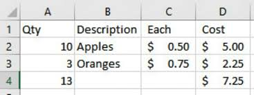 teach me excel excel format as table with total sort and filter teach tech to me