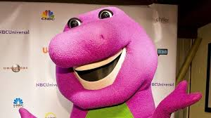guy played barney 10 reveals purple suit