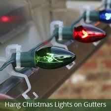 hanging christmas lights on brick walls clever how to attach christmas lights brick without drilling wall