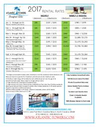 rates on carolina beach vacation rentals