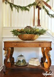 Foyer Furniture Ideas Christmas Entryway Decorating Ideas U2014 Style Estate