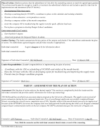 Counseling Form 4856 Fillable Template Exle For Performance Professional Growth Counseling